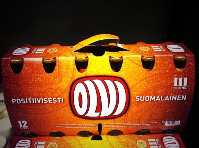 Im finnischen Supermarkt: 12er- statt Sixpacks