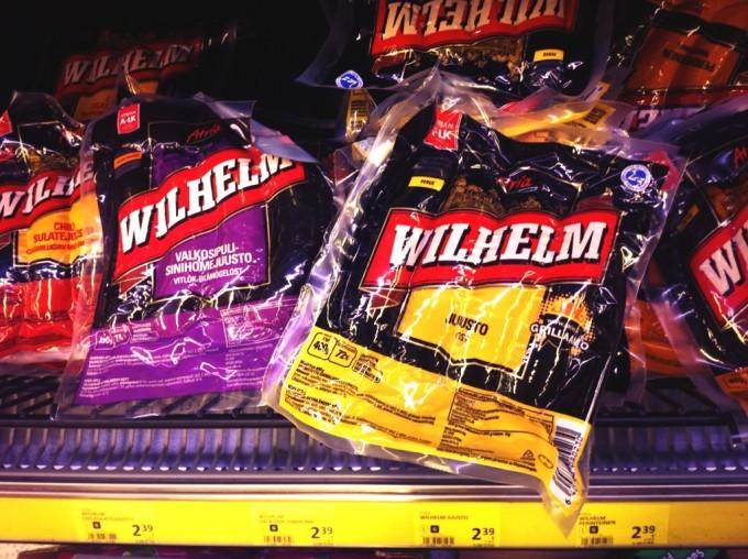 Im finnischen Supermarkt: Wurst