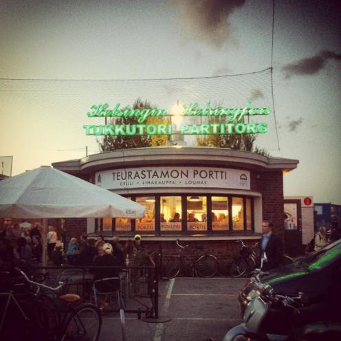 """Spontaneous urban culture"" versprechen die Macher des Teurastamo..."