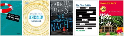 Fünf Buchvorsätze