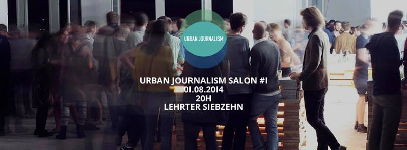 Save the Date: Urban Journalism Salon #1