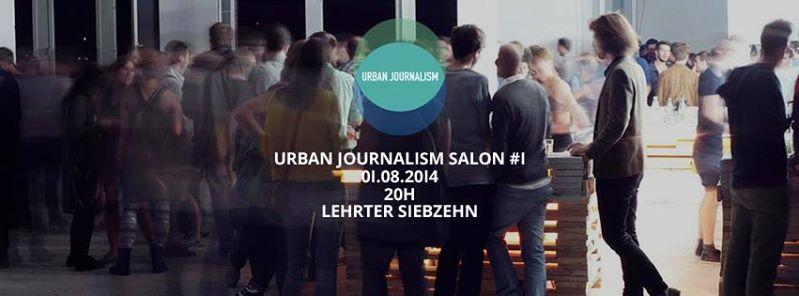 Save the Date: Urban Journalism Salon #1