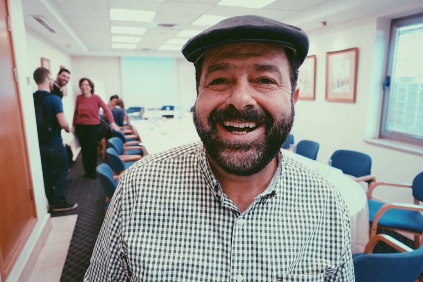Anwalt und Menschenrechtsaktivist Hassan Jabareen