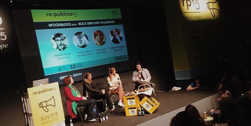 Foodblogs 2.0 - Paneldiskussion auf der Re:publica