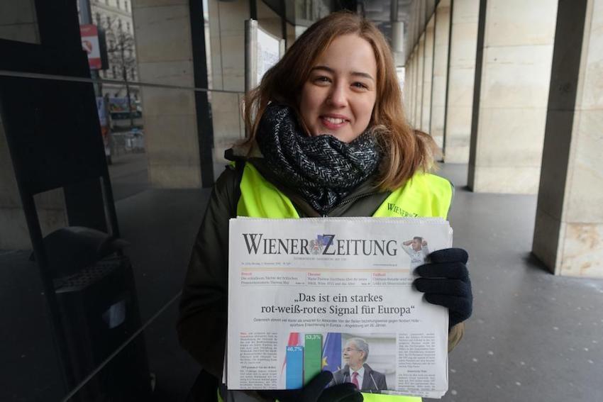 """Anna, 21: """"Ich bin sehr zufrieden mit dieser Schlagzeile."""""""